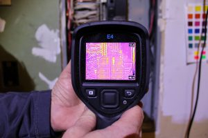 Boggs Inspection Services Infrared Camera