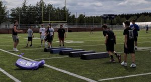 Campus to Community Youth football camp 2019 4