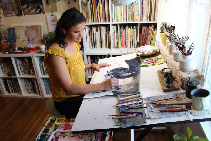 Corinna Luyken At Work