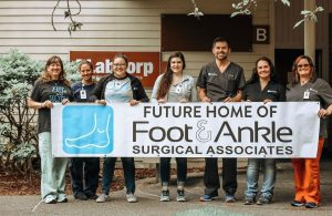 Foot and Ankle Surgical Associates West Olympia Office Moving New Location