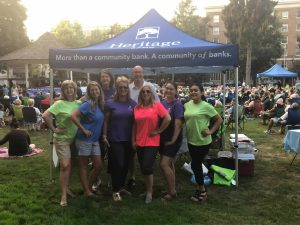 Heritage Bank Brian Vance Music in the Park