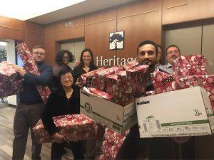 Heritage Bank Jeff Deuel adopt a family