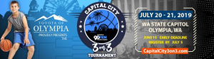 Capital City 3on3 Basketball Tournament @ WA State Capitol Campus
