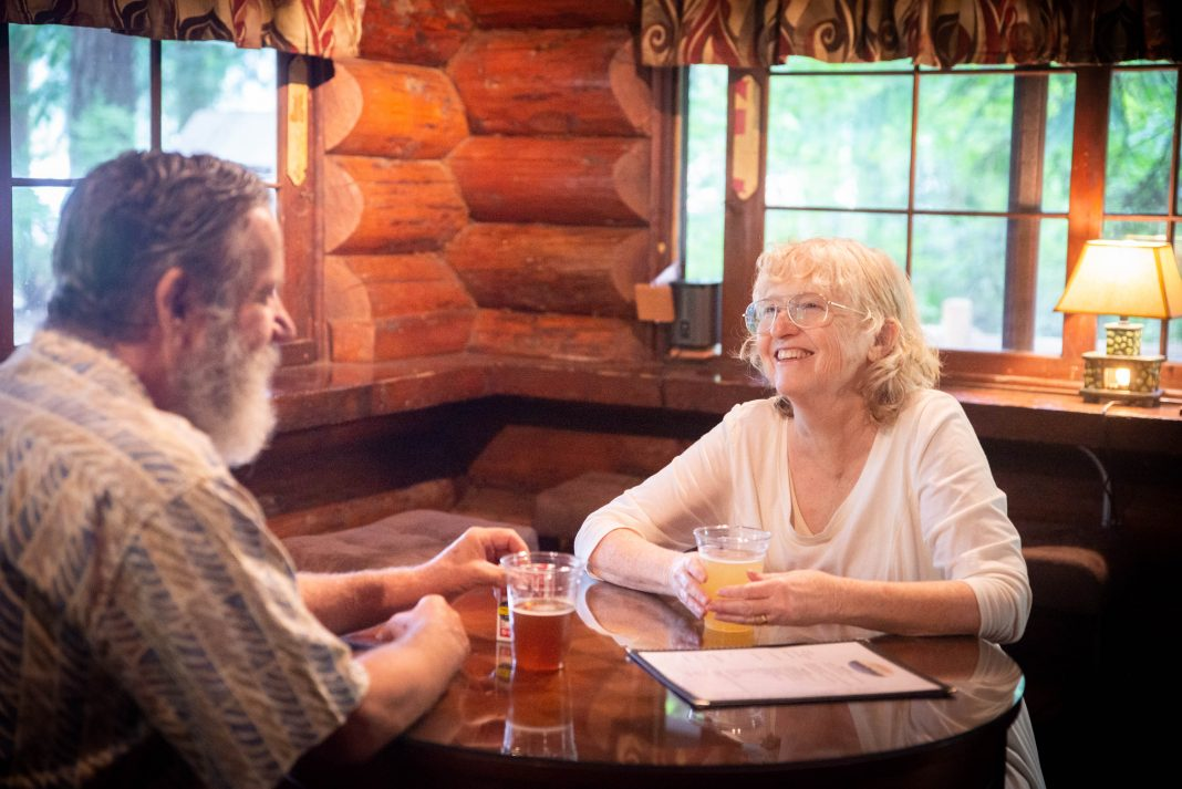 Lakeside Beer Garden Millersylvania State Park Pub Customers-1