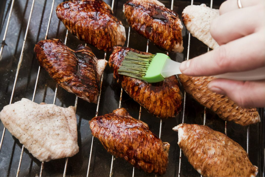 Nisqually Valley Barbecue Rally grilled chicken