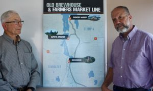 Old Brewhouse Foundation Paul and Rob Trolley Line Map