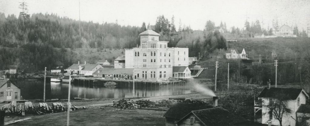 Old Brewhouse Tower Historic Photo