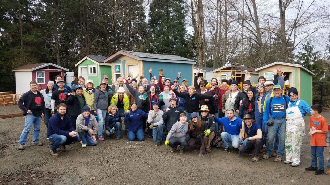Tiny House Village Work Party