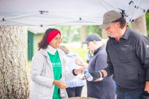 SPSCC Foundation Clipper Scramble Golf Tournament Student Volunteer