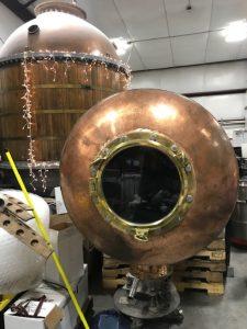 Sandstone Distillery Still Retrofitted Porthole