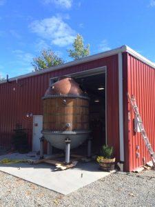 Sandstone Distillery Still Tight Fit
