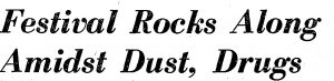 Sky River Festival Rock dust headline