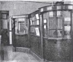 1908 State Bank of Tenino interior