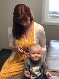 360 Chiropractic Dr Stefanie Olar infant adjustment 1