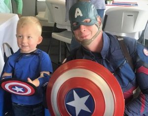 Glitter and Suede Events and Venue Captain America