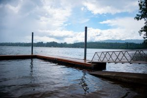 Kenneydell Park Thurston County Parks Floating Dock by Molly Walsh