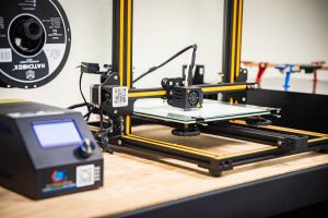 Lacey MakerSpace Ribbon Cutting Ceremony Tools 3D Printer-1