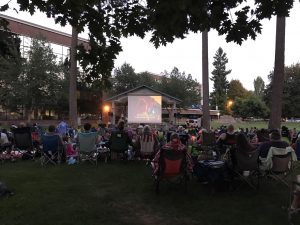 Lacey Parks & Recreation Outdoor Movies