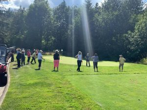 Little Creek golf 2019 ladies chipping clinic