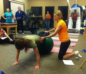 Penrose Physical Therapy runners workshop