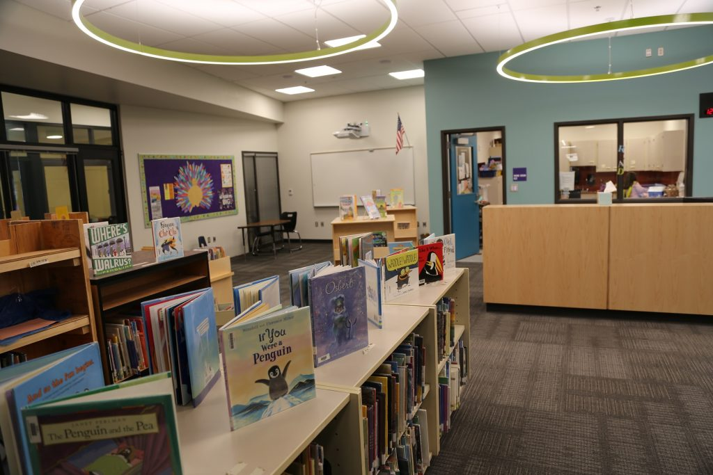 Pleasant Glade new library