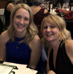 SCJ Alliance Mallory Dobbs and Amy Head at 2019 Thurston Chamber Foundation Auction