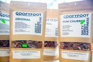 Spuds Produce Market Goofyfoot Pretzels Store Shelf