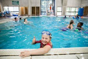 The Evergreen State College 2017 camp speedy recreation swim
