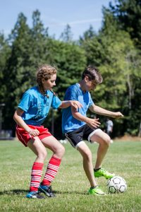 The Evergreen State College 2017 camp speedy soccer