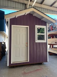Tiny house build by Youthbuild students