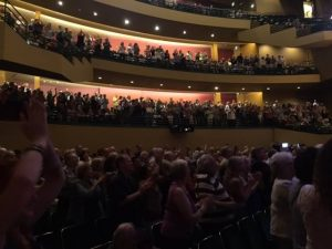 Washington Center for the Performing Arts crowd