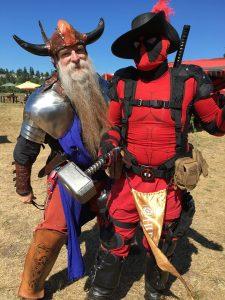 Washington Midsummer Renaissance Faire cosplay
