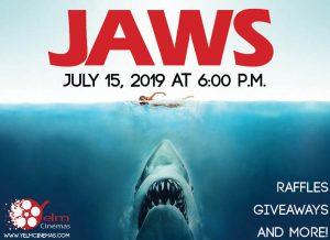 Yelm Cinemas Jaws Poster