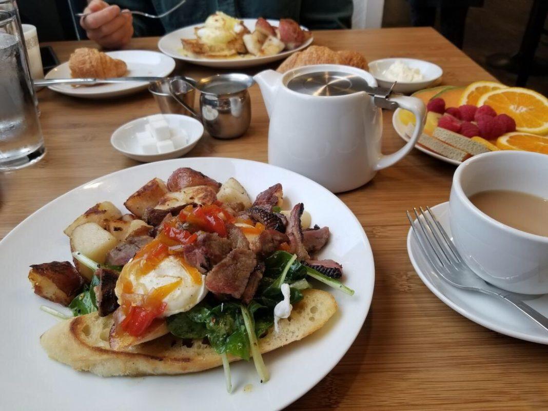BITS Cafe meal