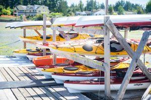Boston Harbor Marina Full Service Marina in Olympia Kayak and Paddleboards