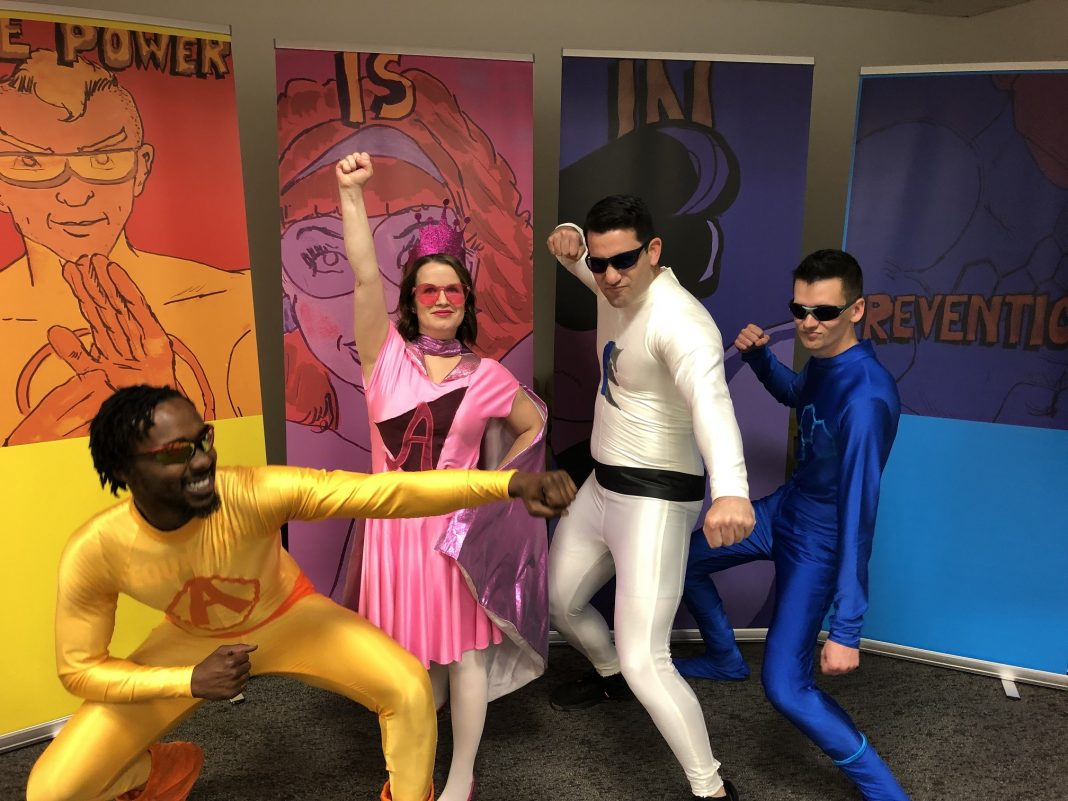 Kaiser Permanente Doctor Comic Book Heroes