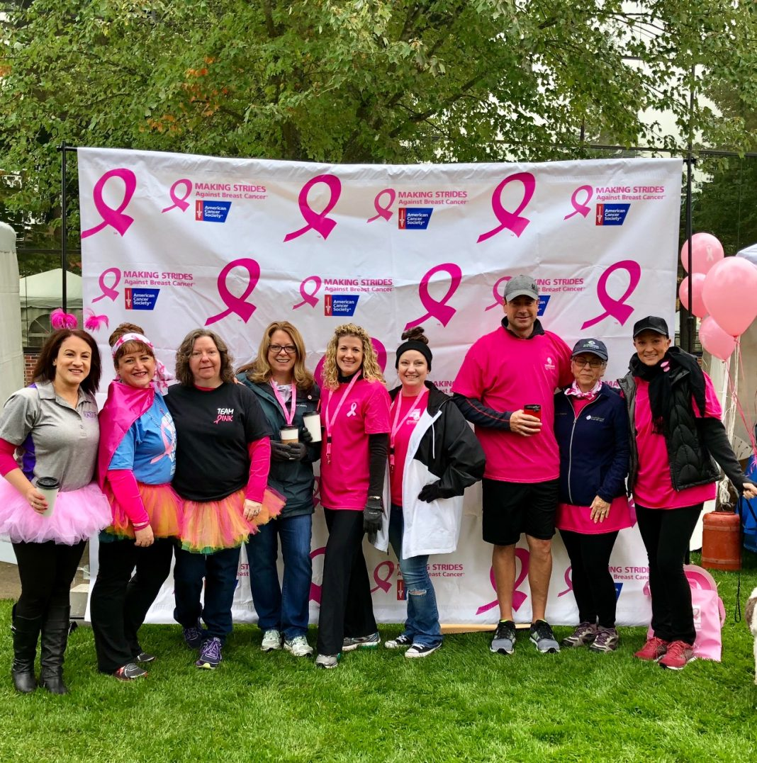 Making Strides of Thurston County Breast Cancer walk 2