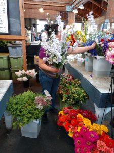 Olympia Farmers Market Fresh Flowers Olympia Maria Ojeda Flowers