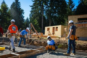 Olympia Federal Savings OlyFed Partnership with Habitat for Humanity Building More Homes