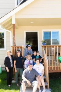 Olympia Federal Savings OlyFed Partnership with Habitat for Humanity Home Sweet Home