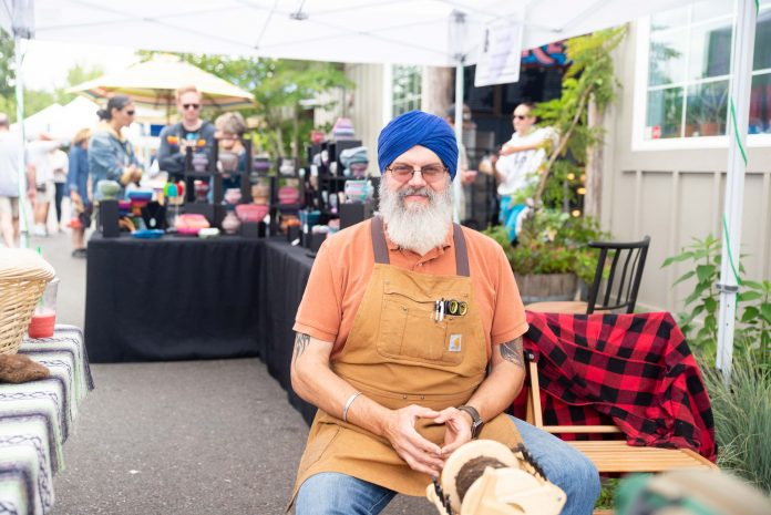 South Puget Sound Community College at the Olympia Farmers Market Ajai Singh Kahlsa