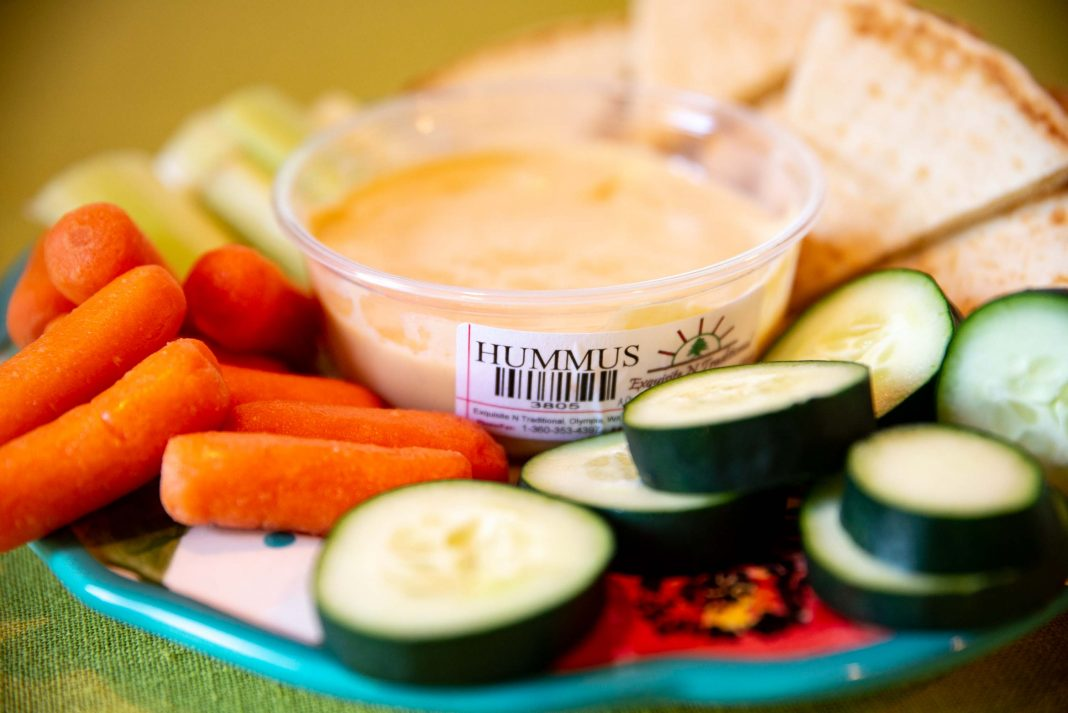 Spud's Produce Market Exquisite N Traditional Hummus Plate