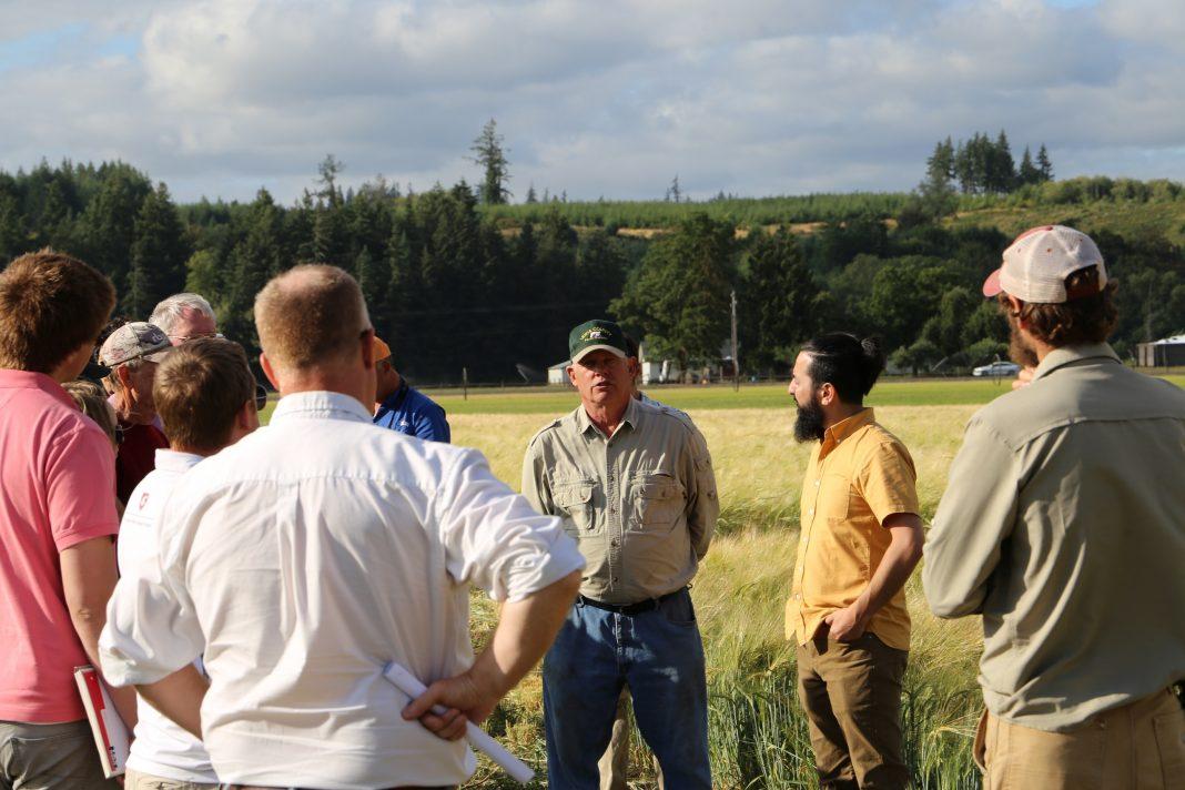 Thurston EDC barley growers