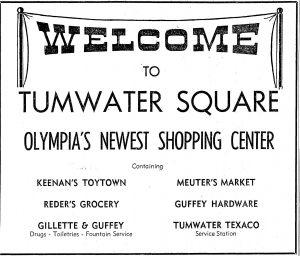 Tumwater Square 1946