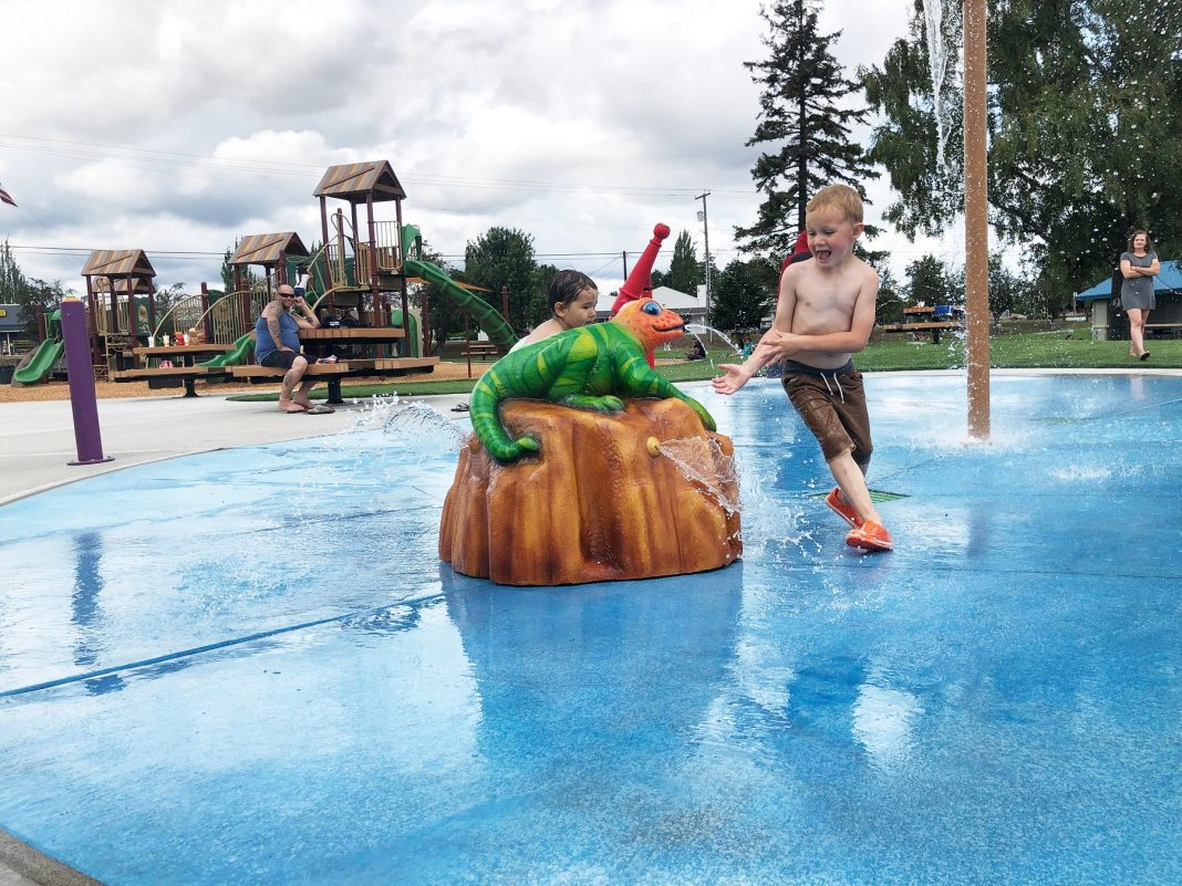 Yelm City Park Splash Pad