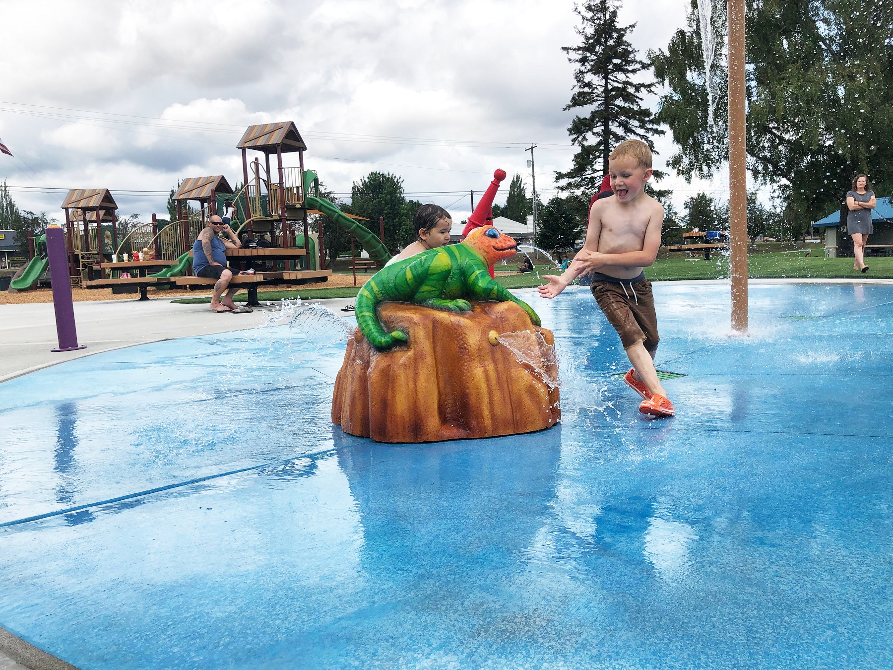 Yelm Splash Pad And Playground Create Destination In The Heart Of Community Thurstontalk