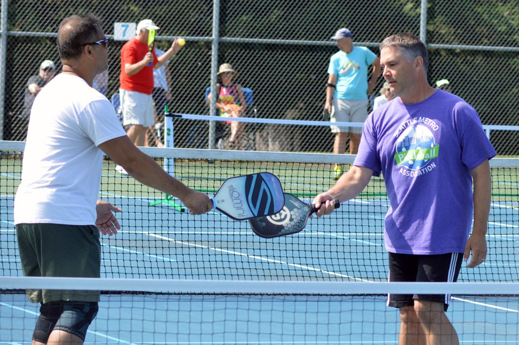 pickleball tournament Rainier Vista Community Center