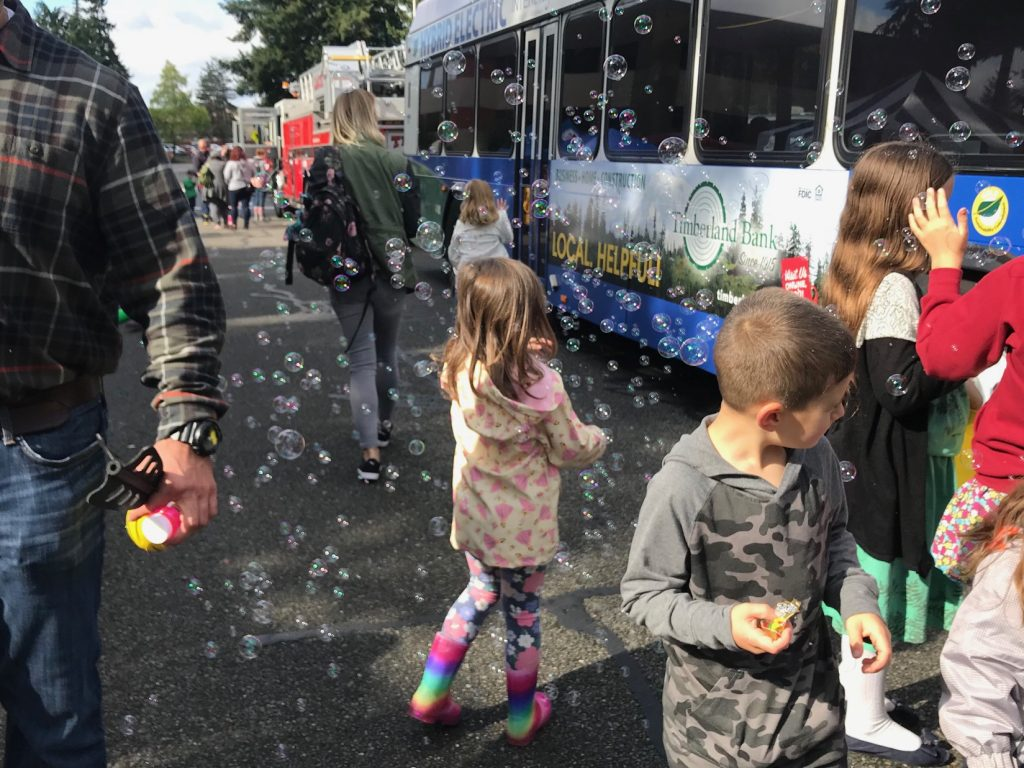 City of Lacey Childrens Day activities