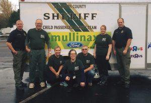 Thurston County Sheriff's Child Passenger Safety team