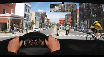 Distracted Driving Inattentional Blindness